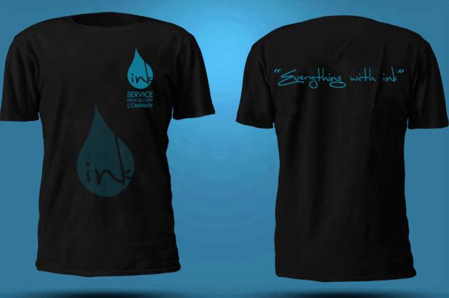 DTG Kuwait printing انك سيرفس الكويت الطباعة على الملابس - تي شيرتات