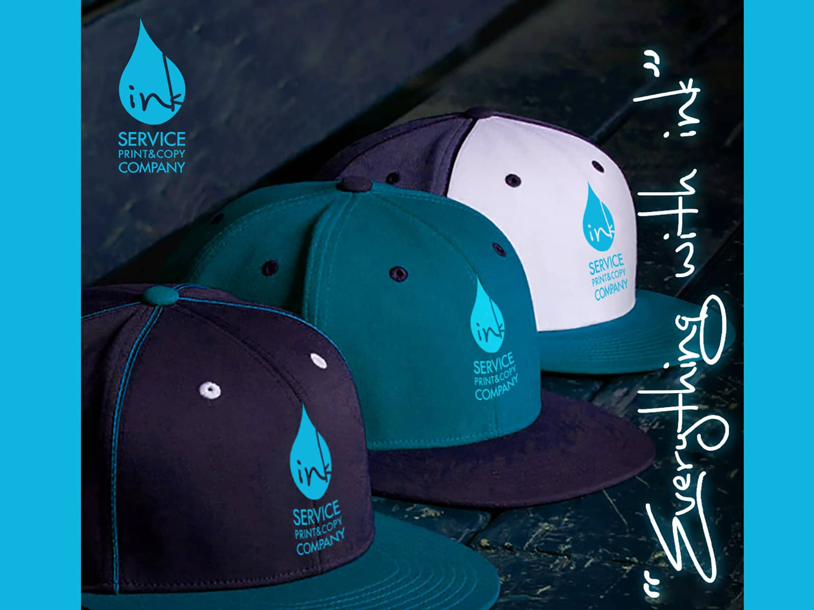 print on hats caps kuwait inkservice