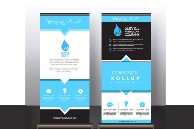 standup banner rollup banners - stand-up banners - in Kuwait for personal and commercial use - inkservice