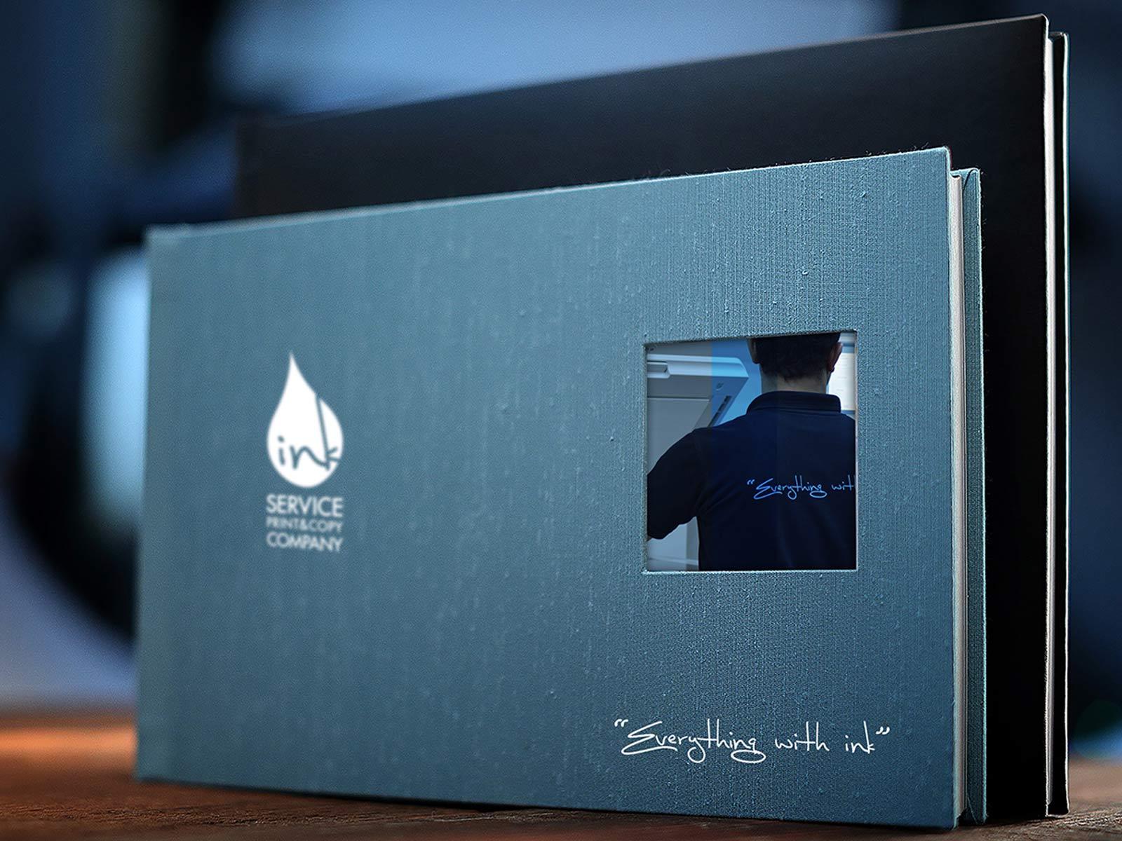 Inkservice album design Kuwait