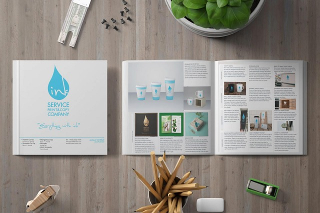 catalogues printed designed in Kuwait