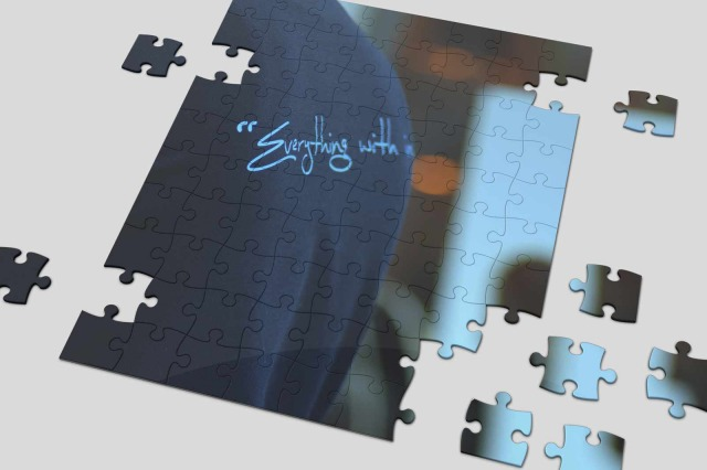Printing on Jigsaw Game -Inkservice prints on jigsaw puzzles in Kuwait