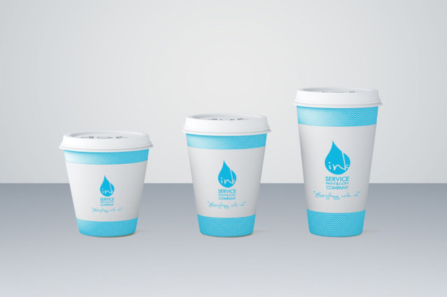 print on paper cup kuwait by inkservice